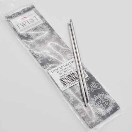 Спицы съемные металлические 10 см, 2.75 мм