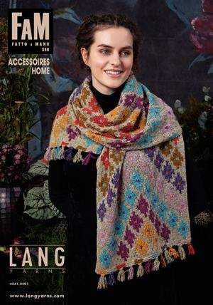 Журнал Lang Yarns Fam 258 Accessoires Home FAM  (Lang Yarns)