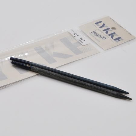 Спицы разъемные Lykke, цвет Indigo,11.5 см / 4.5 мм (Lykke)