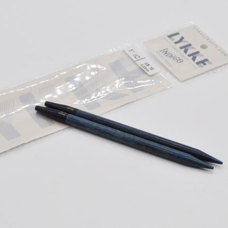 Спицы разъемные Lykke, цвет Indigo,11.5 см / 6 мм (Lykke)