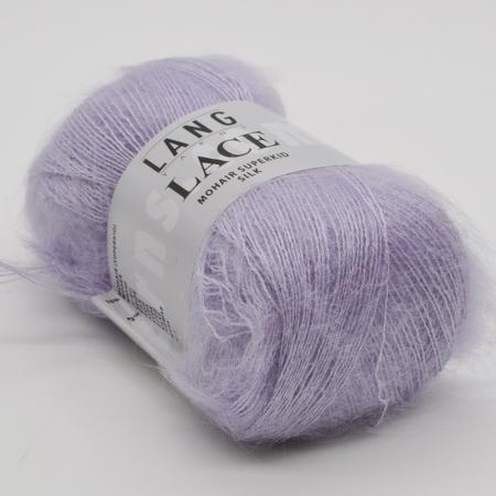 Пряжа для вязания и рукоделия Lace (Lang Yarns) цвет 07, 310 м