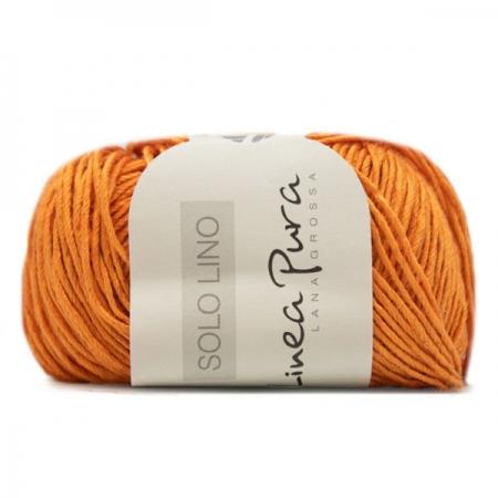 Пряжа для вязания и рукоделия Solo Lino (Lana Grossa) цвет 25, 120 м