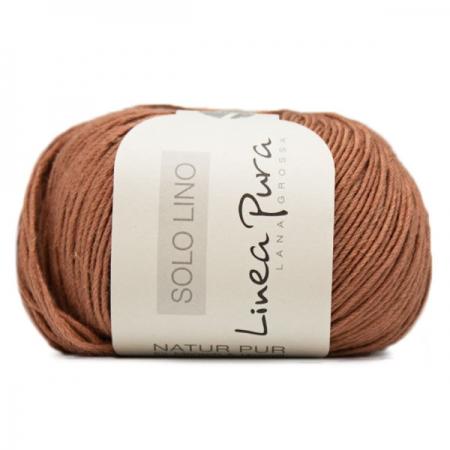 Пряжа для вязания и рукоделия Solo Lino (Lana Grossa) цвет 26, 120 м