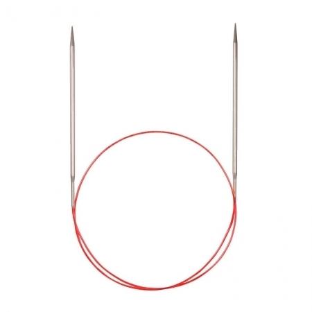 Спицы для кругового вязания с удлиненным кончиком 775-7, 80 см / 2.5 мм (Addi)