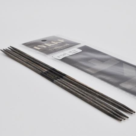 Спицы чулочные Lykke, дерево Driftwood, 15 см / 3.5 мм (Lykke)