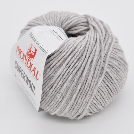 Пряжа для вязания и рукоделия Superwool (Mondial) цвет 0600, 125 м