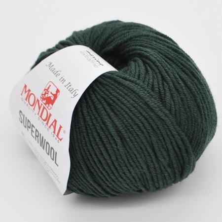 Пряжа для вязания и рукоделия Superwool (Mondial) цвет 0052, 125 м