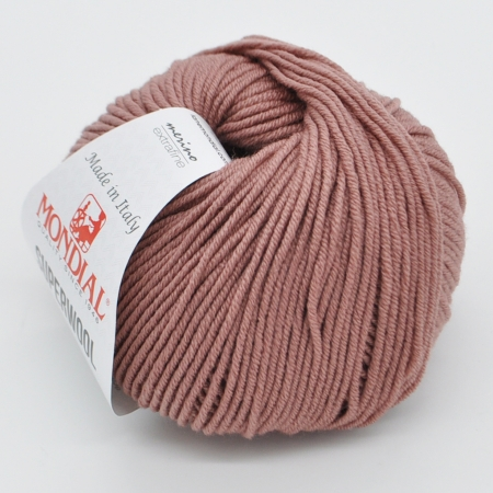 Пряжа для вязания и рукоделия Superwool (Mondial) цвет 0337, 125 м