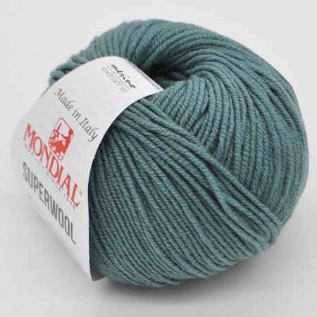 Пряжа для вязания и рукоделия Superwool (Mondial) цвет 0349, 125 м