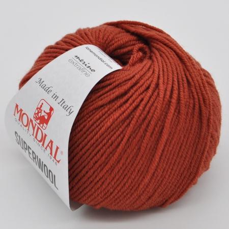 Пряжа для вязания и рукоделия Superwool (Mondial) цвет 0335, 125 м