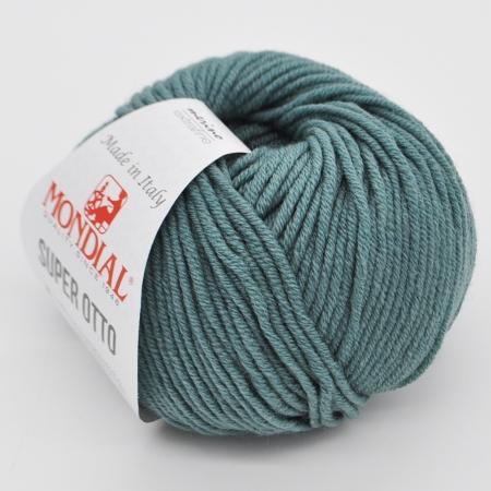 Пряжа для вязания и рукоделия Super Otto (Mondial) цвет 0349, 90 м