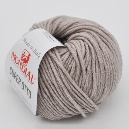Пряжа для вязания и рукоделия Super Otto (Mondial) цвет 0300 90 м
