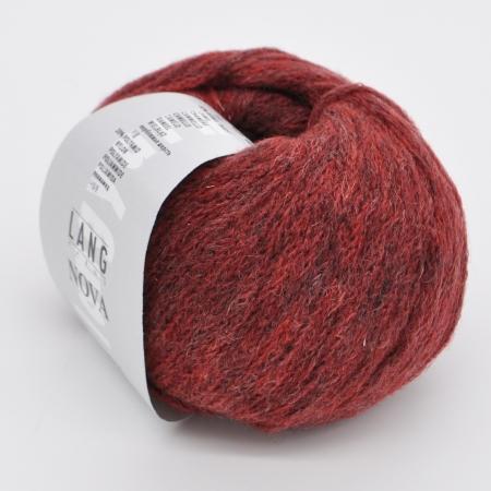 Пряжа для вязания и рукоделия Nova (Lang Yarns) цвет 0062, 180 м