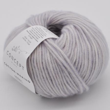 Пряжа для вязания и рукоделия Cotton Merino (Katia) цвет 128, 105 м
