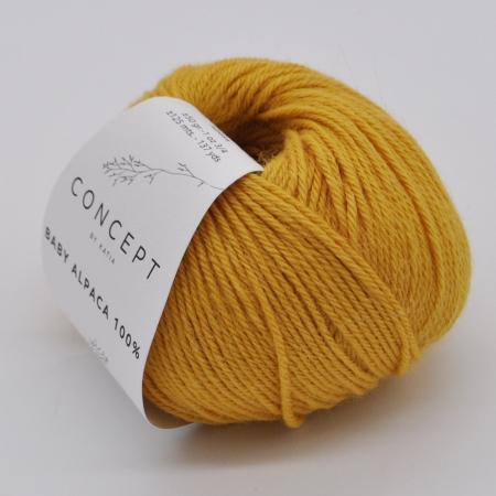 Пряжа для вязания и рукоделия Baby Alpaca (Katia) цвет 521, 125 м