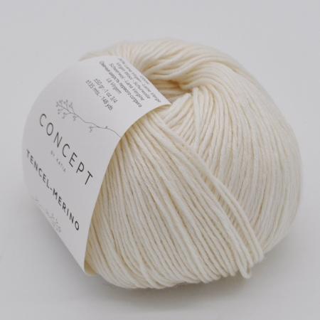 Пряжа для вязания и рукоделия Tencel-Merino (Katia) цвет 050, 135 м
