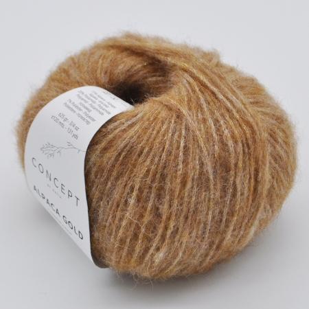 Пряжа для вязания и рукоделия Alpaca Gold (Katia) цвет 351, 120 м