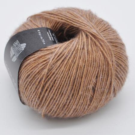 Пряжа для вязания и рукоделия Ecopuno (Lana Grossa) цвет 032, 215 м