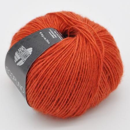 Пряжа для вязания и рукоделия Ecopuno (Lana Grossa) цвет 034, 215 м