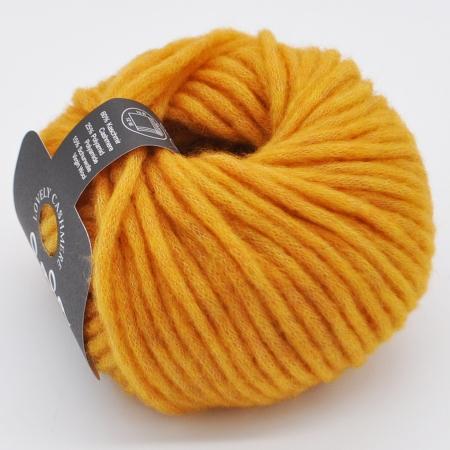 Пряжа для вязания и рукоделия Lovely Cashmere (Lana Grossa) цвет 001, 60 м