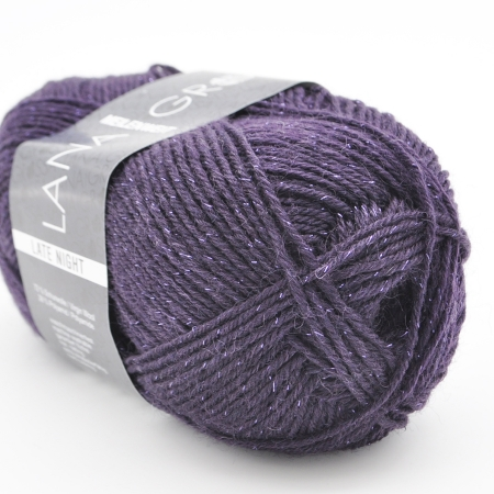 Пряжа для вязания и рукоделия Meilenweit Late Night 3 (Lana Grossa) цвет 2904, 200 м