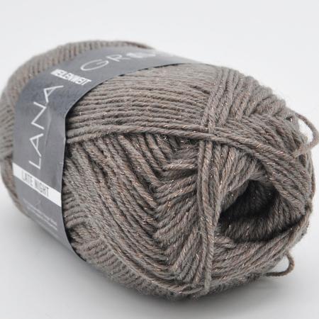 Пряжа для вязания и рукоделия Meilenweit Late Night 3 (Lana Grossa) цвет 2908, 200 м
