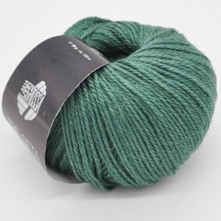 Пряжа для вязания и рукоделия Tre Seta (Lana Grossa) цвет 012, 130 м