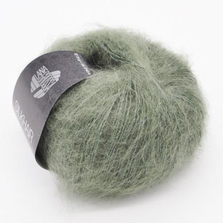 Пряжа для вязания и рукоделия Silkhair (Lana Grossa) цвет 127, 210 м