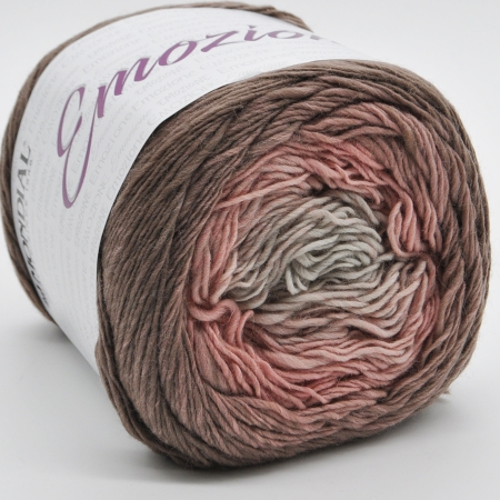 Пряжа для вязания и рукоделия Emozione (Mondial) цвет 758
