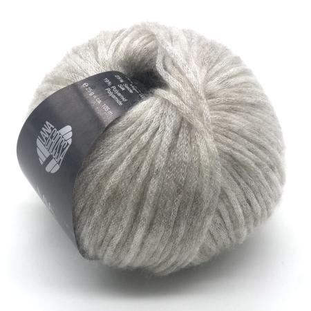 Пряжа для вязания и рукоделия Mia (Lana Grossa) цвет 001, 105 м
