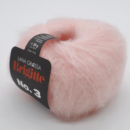 Пряжа для вязания и рукоделия Brigitte 3 (Lana Grossa) цвет 008, 100 м