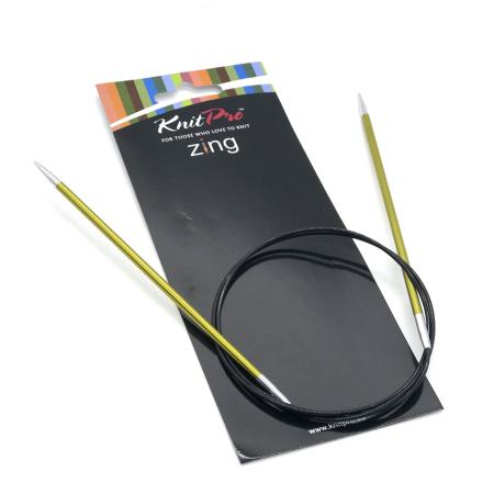 Спицы круговые Zing 80 см 3.5 мм