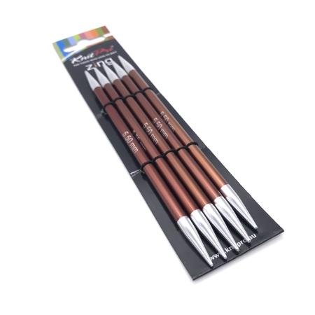Спицы чулочные Zing 15 см 5.5 мм
