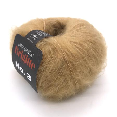 Пряжа для вязания и рукоделия Brigitte 3 (Lana Grossa) цвет 019, 100 м