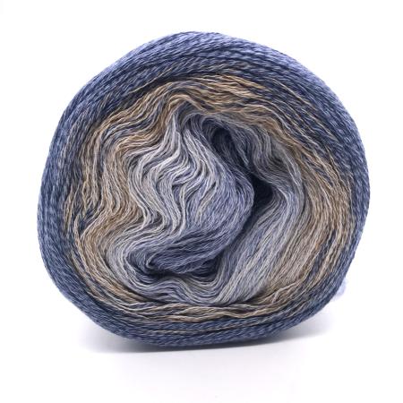 Пряжа для вязания и рукоделия Shades of Merino Cotton (Lana Grossa) цвет 412