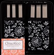 Набор чулочных металлических спиц  Chiaogoo 15 см