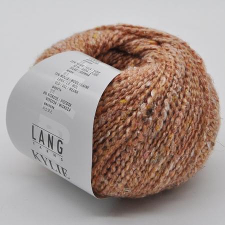 Пряжа для вязания и рукоделия Kylie (Lang Yarns) цвет 0027, 150 м
