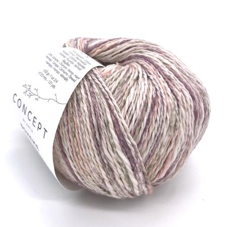 Пряжа для вязания и рукоделия Boheme (Katia) цвет 53, 120 м