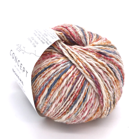 Пряжа для вязания и рукоделия Boheme (Katia) цвет 55, 120 м