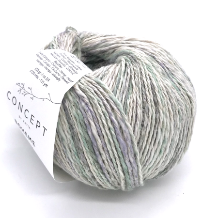Пряжа для вязания и рукоделия Boheme (Katia) цвет 51, 120 м
