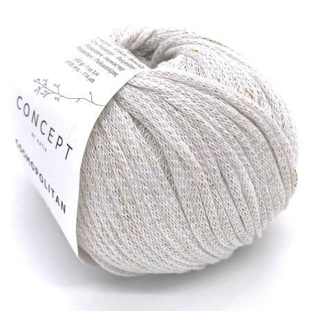 Пряжа для вязания и рукоделия Cosmopolitan (Katia) цвет 70, 105 м