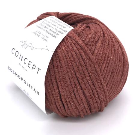Пряжа для вязания и рукоделия Cosmopolitan (Katia) цвет 81, 105 м