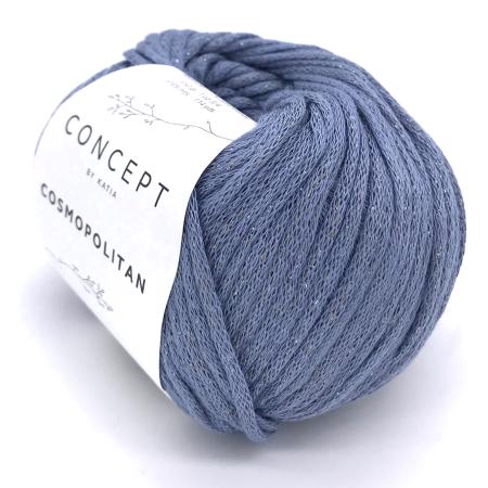 Пряжа для вязания и рукоделия Cosmopolitan (Katia) цвет 84, 105 м