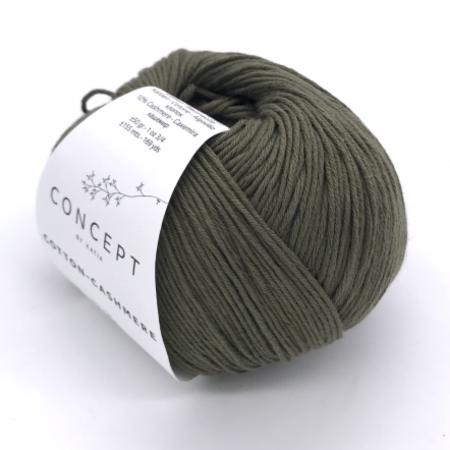 Пряжа для вязания и рукоделия Cotton-Cashmere (Katia) цвет 71, 155 м