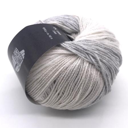 Пряжа для вязания и рукоделия Trefili (Lana Grossa) цвет 001, 160 м