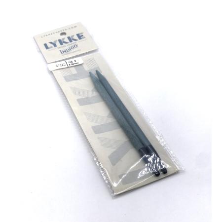 Спицы разъемные Lykke, цвет Indigo,11.5 см / 5.5 мм (Lykke)