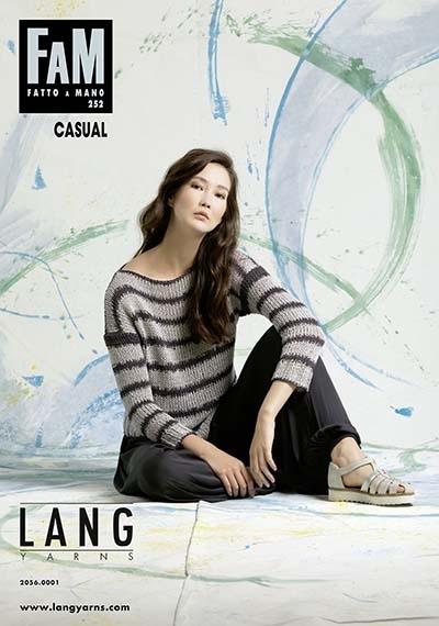 Журнал Lang Yarns Fam 252 Cassual (Lang Yarns)