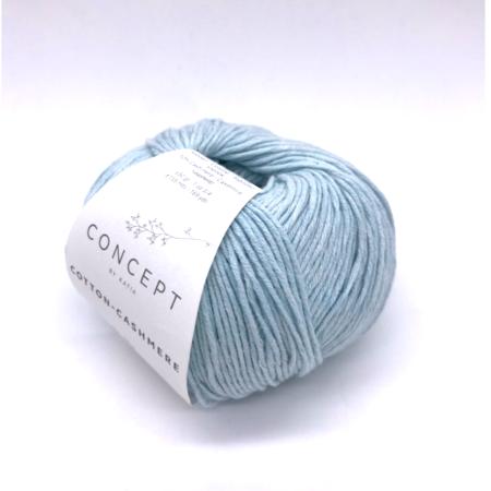 Пряжа для вязания и рукоделия Cotton-Cashmere (Katia) цвет 73, 155 м
