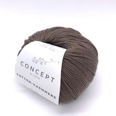 Пряжа для вязания и рукоделия Cotton-Cashmere (Katia) цвет 60, 155 м