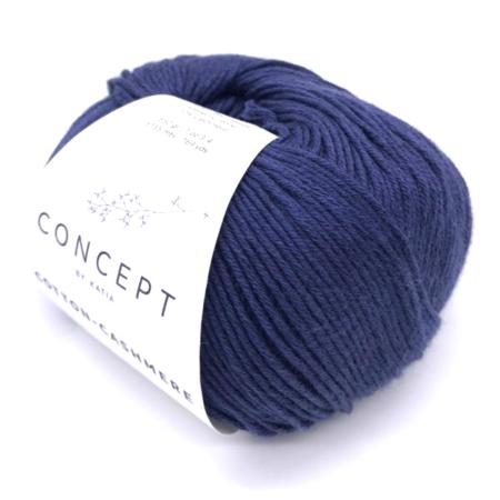 Пряжа для вязания и рукоделия Cotton-Cashmere (Katia) цвет 62, 155 м
